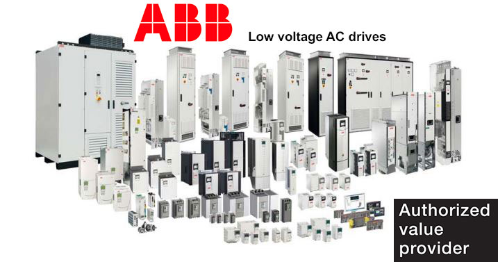 ABB Low voltage drives - VFD's - Authorized Distributor