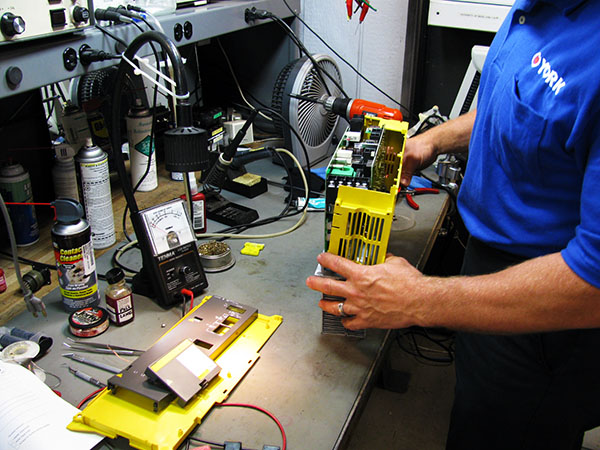 Fanuc servo amplifier repair
