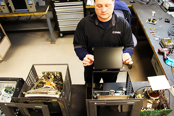 Industrial HMI Monitor repair and LCD retrofitting